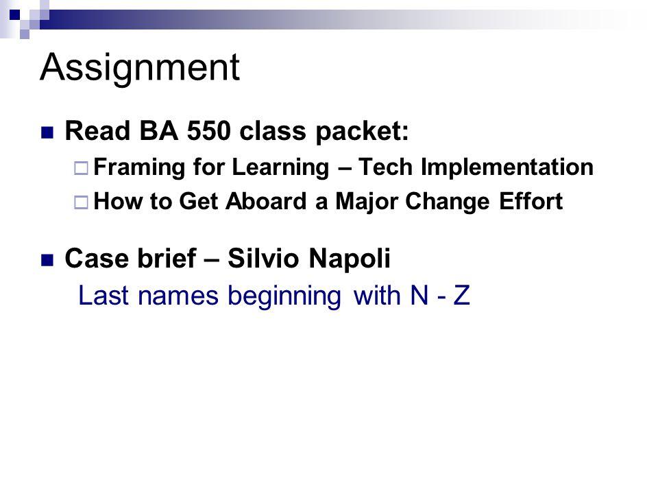 case 2 brief silvio napoli Free college essay case study silvio napoli at schindler india (a) 1 case brief silvio napoli.