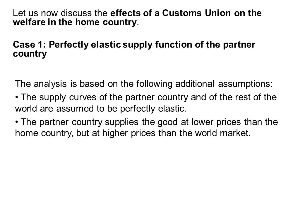 free movement of goods 1 on the theory of customs unions ppt video online download. Black Bedroom Furniture Sets. Home Design Ideas