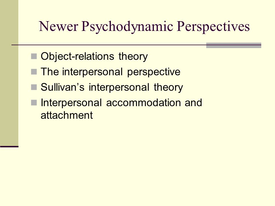 sullivans interpersonal theory Sullivan's interpersonal theory:core concepts, the self-system personality psychology social sciences psychology.