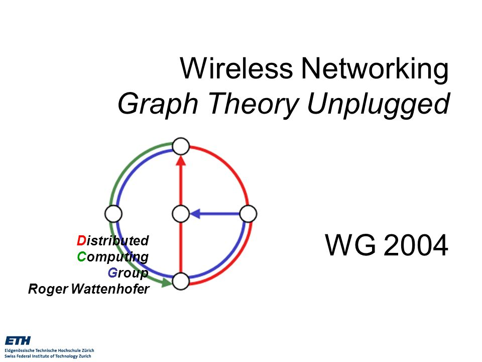 wireless networking graph theory unplugged wg ppt download