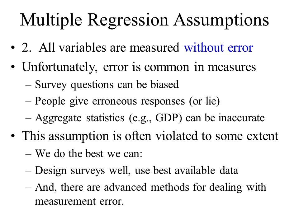 multiple regression research paper