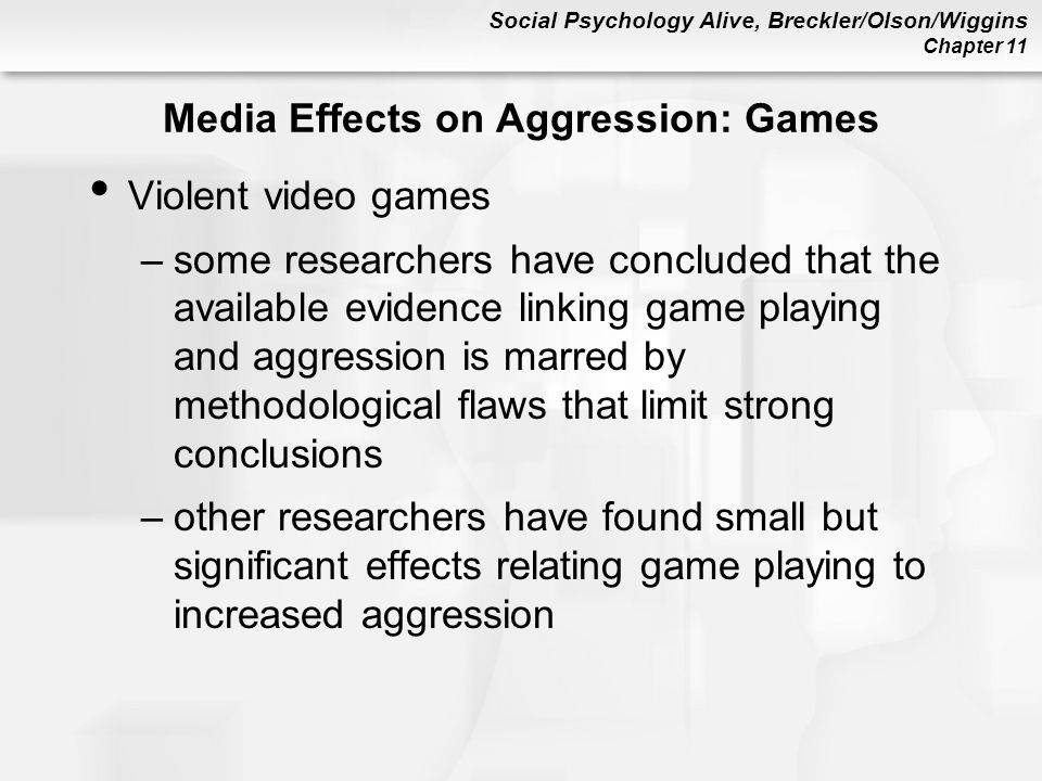 the effects of violence in the media and computer games The impact of electronic media violence: scientific theory and research l finally the size of the media violence effect is compared with some other well-known threats to society to movies, videos, video games, cell phones, and computer networks have assumed central roles in.