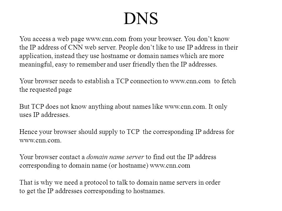 how to get ip address from dns hostname