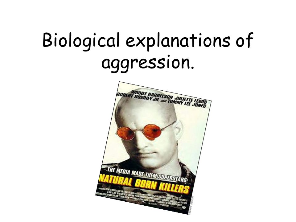 biological basis of aggression The physical structure of the body plays an important role in the behavior of an individual the most important physical structure for psychologists is the nervous system the nervous system carries orders from the brain and spinal cord to various glands and muscles, it also carries signals from.