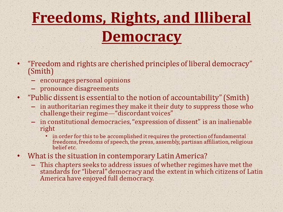 The Ride Of Illiberal Democracy Essay Sample