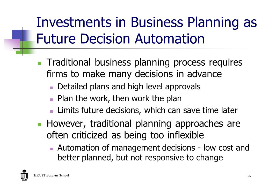 new business plan with lowest investment management