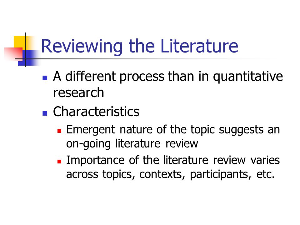 importance of literature review in research methodology Literature review on qualitative methods and standards for this section sets the stage for understanding the importance of qualitative research and data.