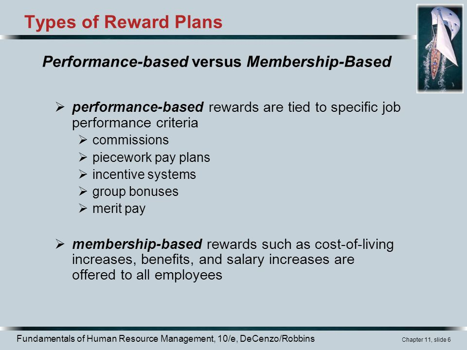 performance based pay and employee rewards Xii designing an effective pay for performance compensation system executive summary believe that the organization will actually recognize and reward that performance.
