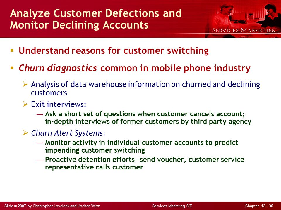 customer defections Citeseerx - scientific documents that cite the following paper: learning from customer defections.