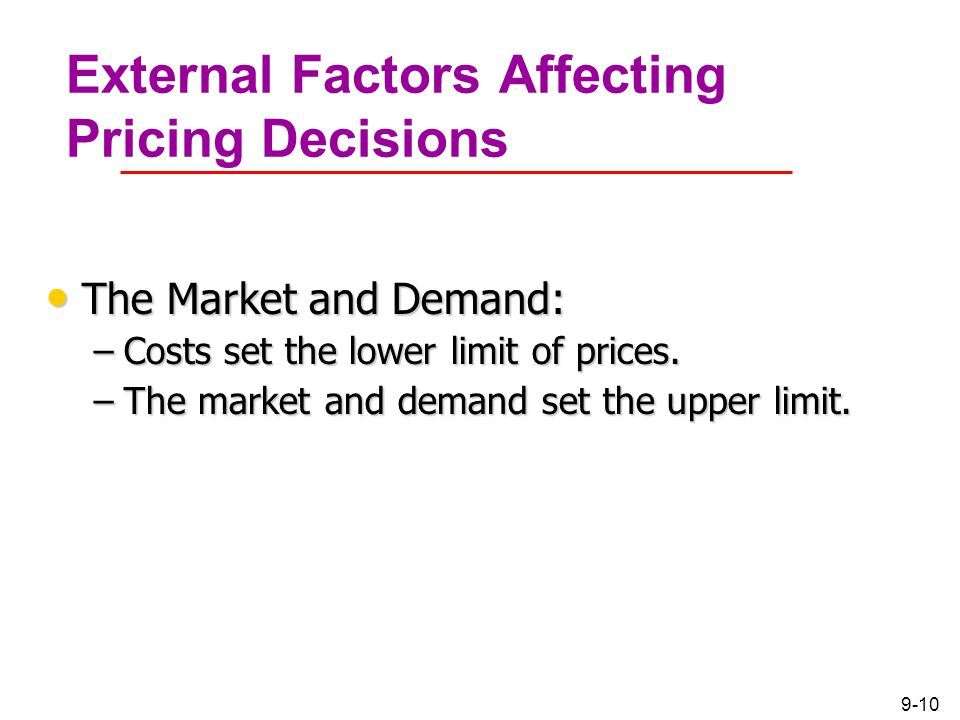 external factors affecting pricing decision How external factors can affect procurement  procurement teams to make better -informed decisions about the contractors they want to work.