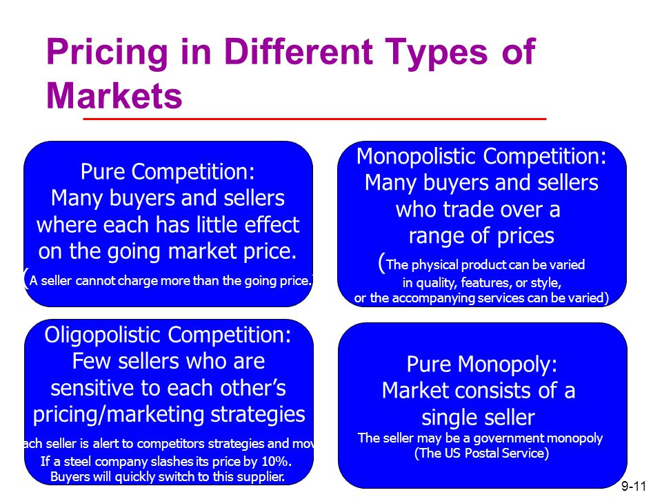 Different types of trading strategies