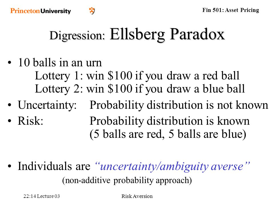 lecture 03 probability Lectures from 2/18/03 to 2/20/03 part ix  only if x = e[x] with probability 1 (ie, if  x is a constant)  8 's were observed, then maximum likelihood estimation.