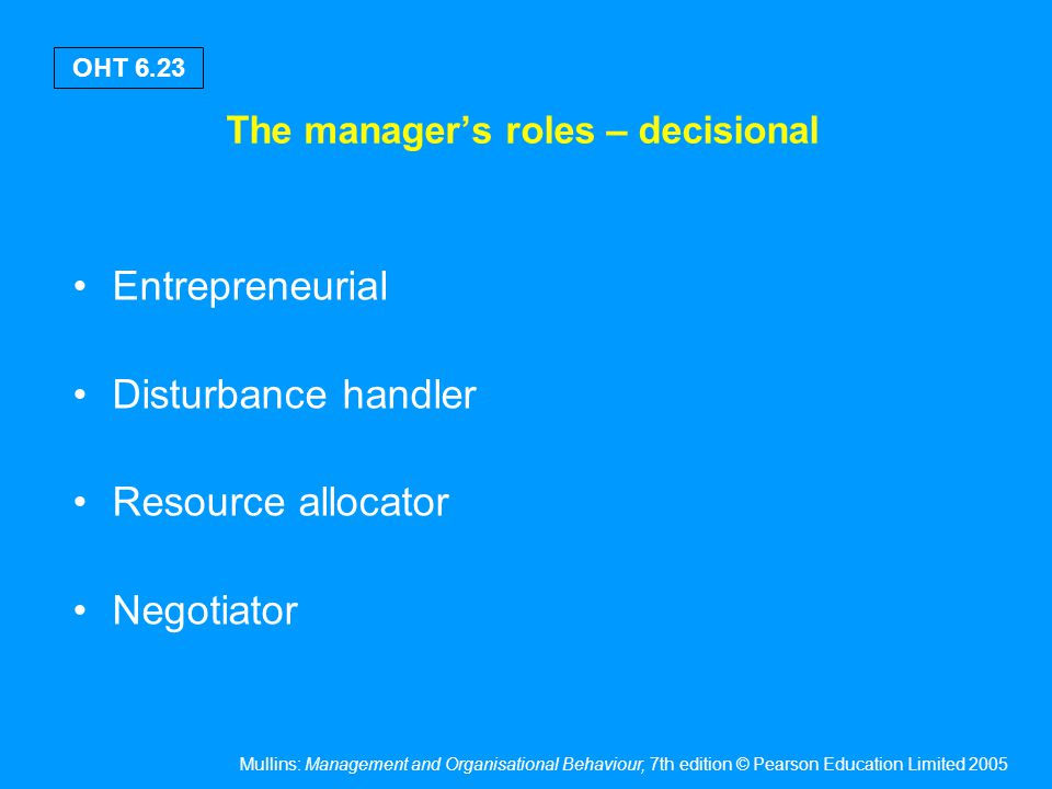 Attributes & qualities of a management