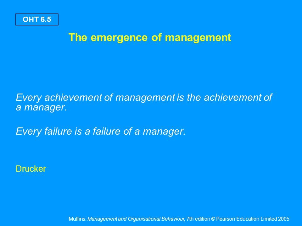 Are managers born or made