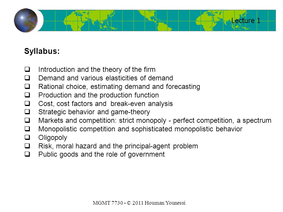 MGMT 7730 – Economics and Institutions - ppt video online ...