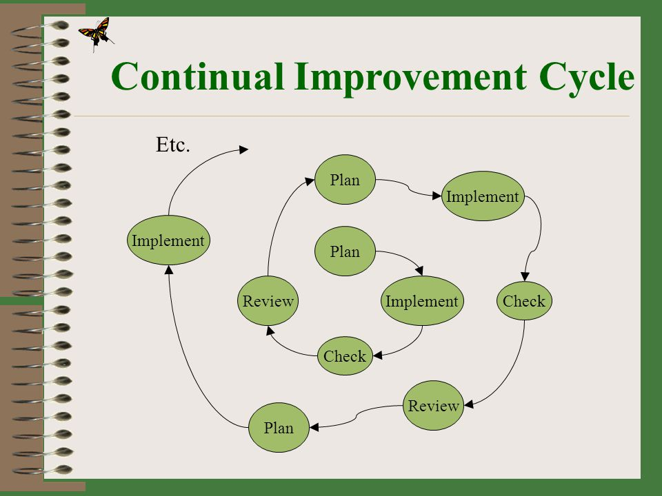 Continual Improvement Cycle