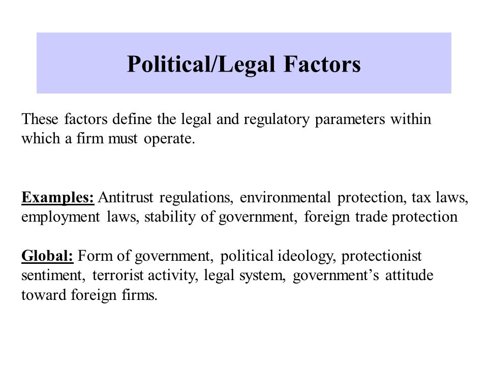 environment and legal factors in pharma industry An example is the european-based inter-association initiative on pharmaceuticals in the environment (iai pie), which consists of the association of the european self-medication industry (aesgp), the european federation of pharmaceutical industries and associations (efpia), and medicines for europe.
