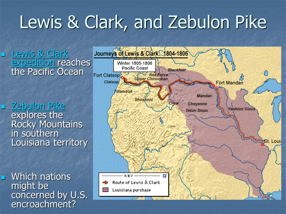 The Lewis And Clark Expedition >> A Century of Expansion The Realization of America's Destiny: ppt download