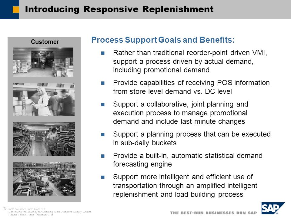 importance of responsive replenishment in consumer Lost/replenishment rush orders  responsive to advertising and online purchasing 28% 16% 16%  social media and consumer reviews 'level.