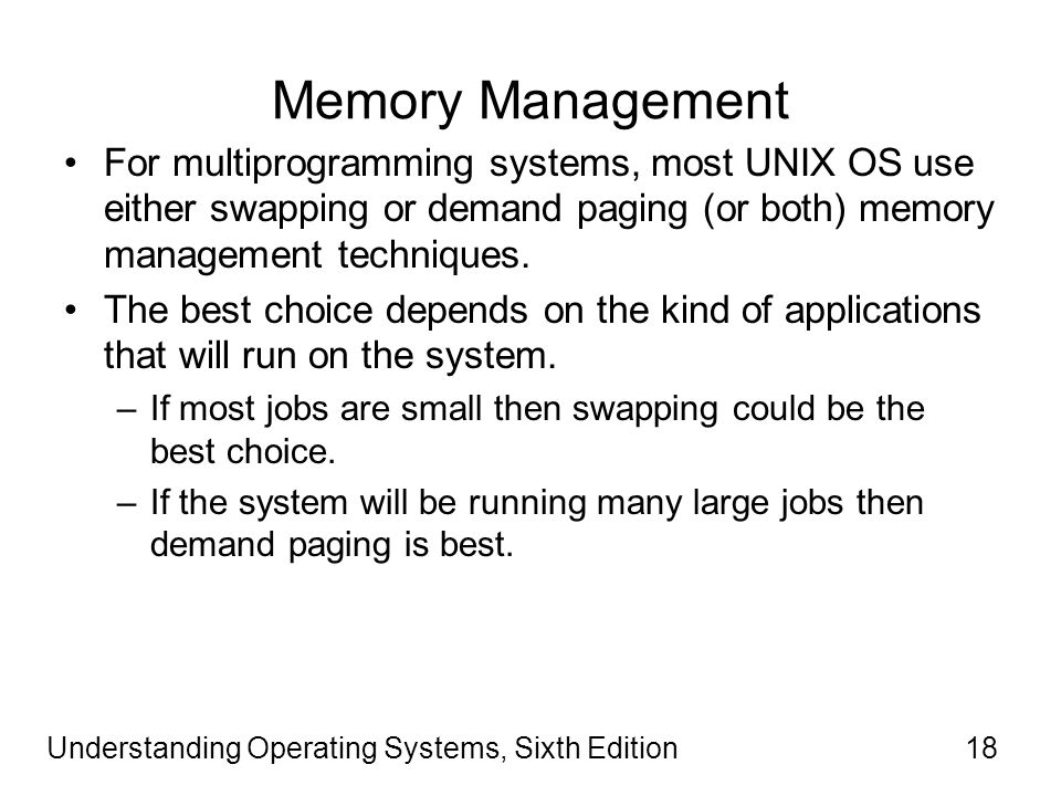 unix multiprogramming Multiprogramming the nachos fork and exec routines have completely different semantic from the unix system calls in particular, the nachos system calls do the following:.