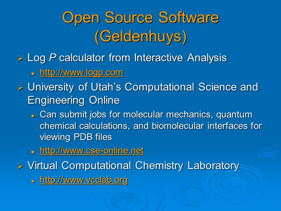 Open Source Software (Geldenhuys)