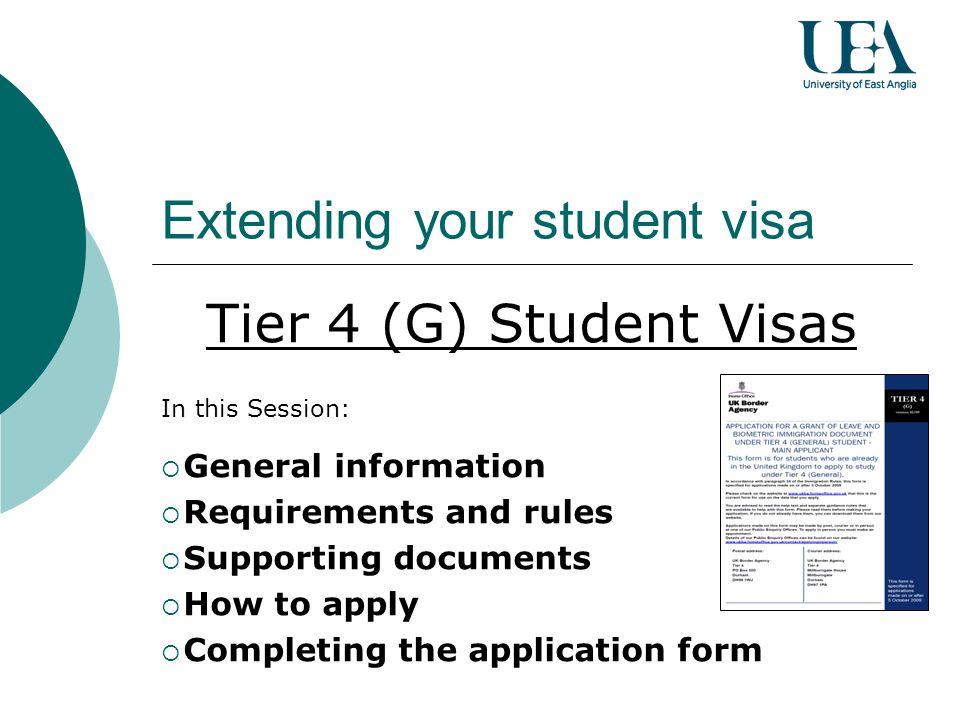 Extending Your Student Visa Ppt Video Online Download