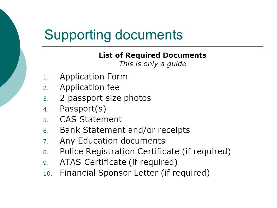 Extending your student visa ppt video online download for Documents required for passport online application