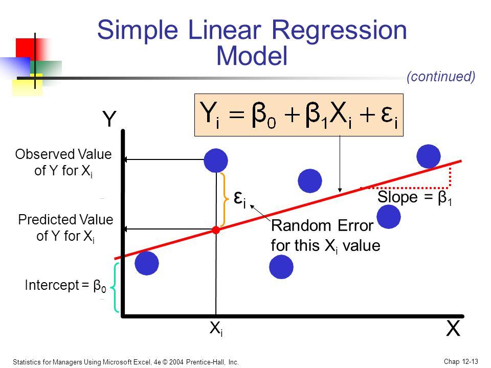 simple linear regression model Goldsman — isye 6739 linear regression regression 121 simple linear regression model 122 fitting the regression line.