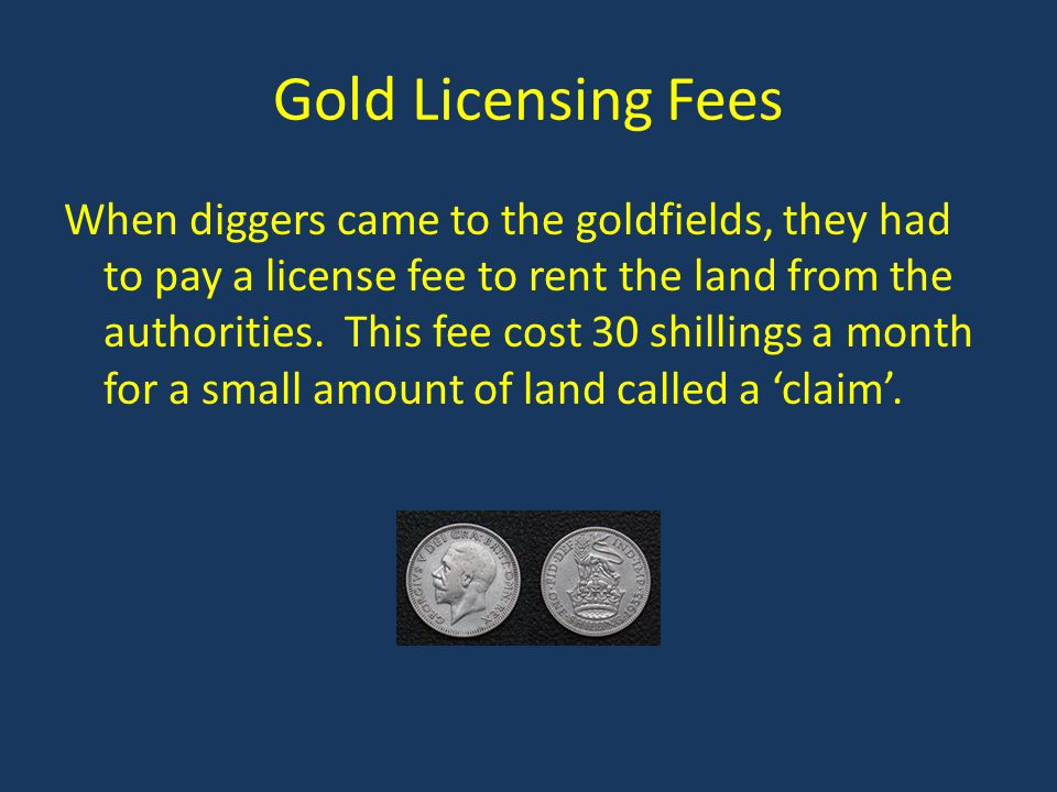 Gold Licensing Fees