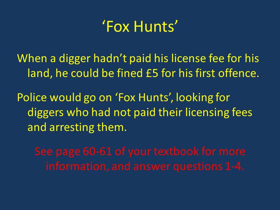 'Fox Hunts'