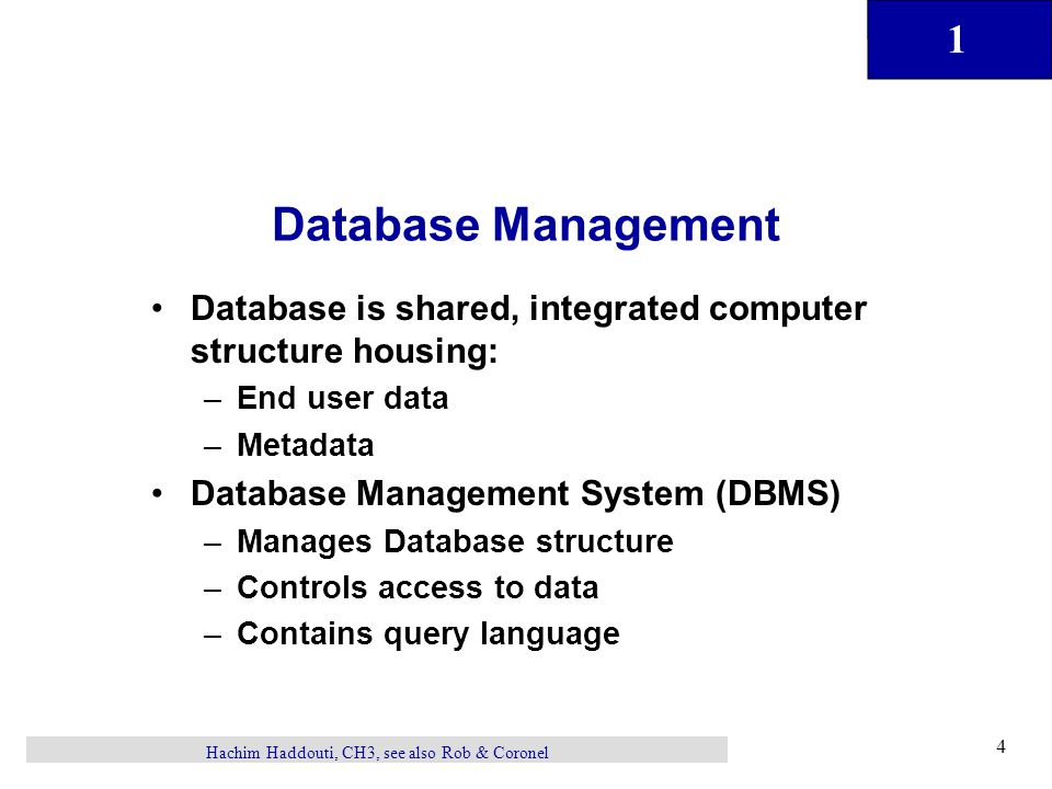 File Systems And Databases Hachim Haddouti Ppt Download