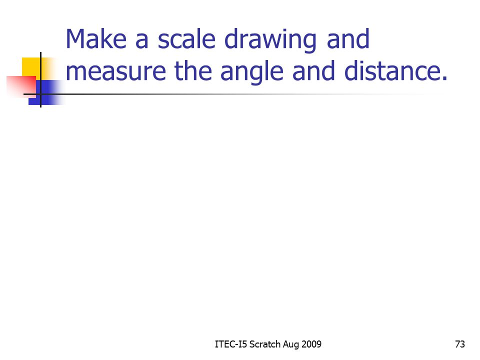 how to make a scale drawing