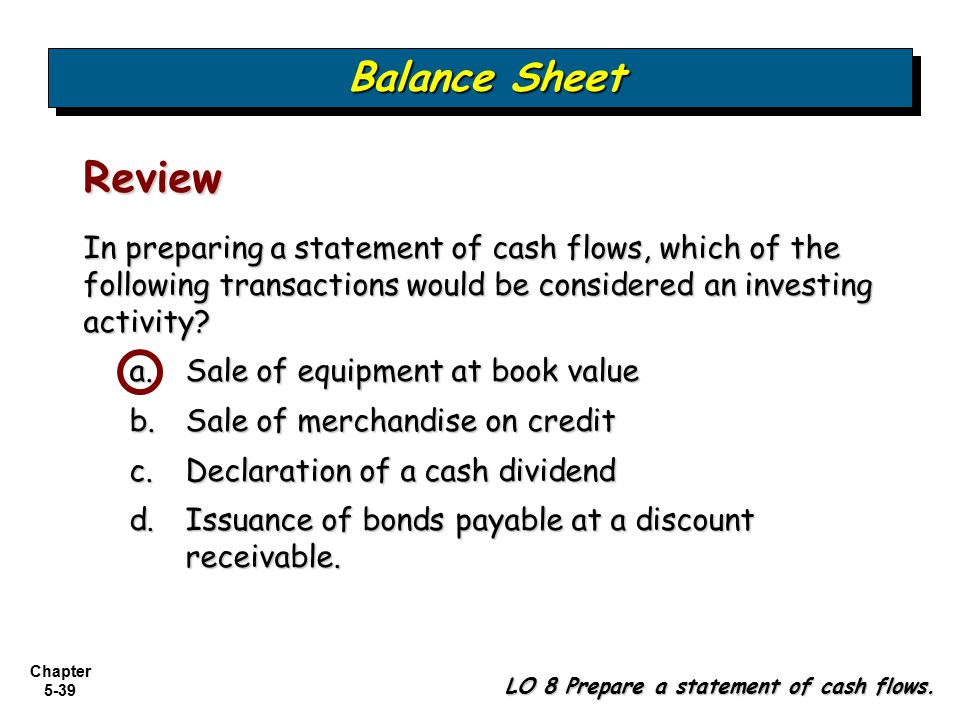 balance sheet accounts are considered to be __________