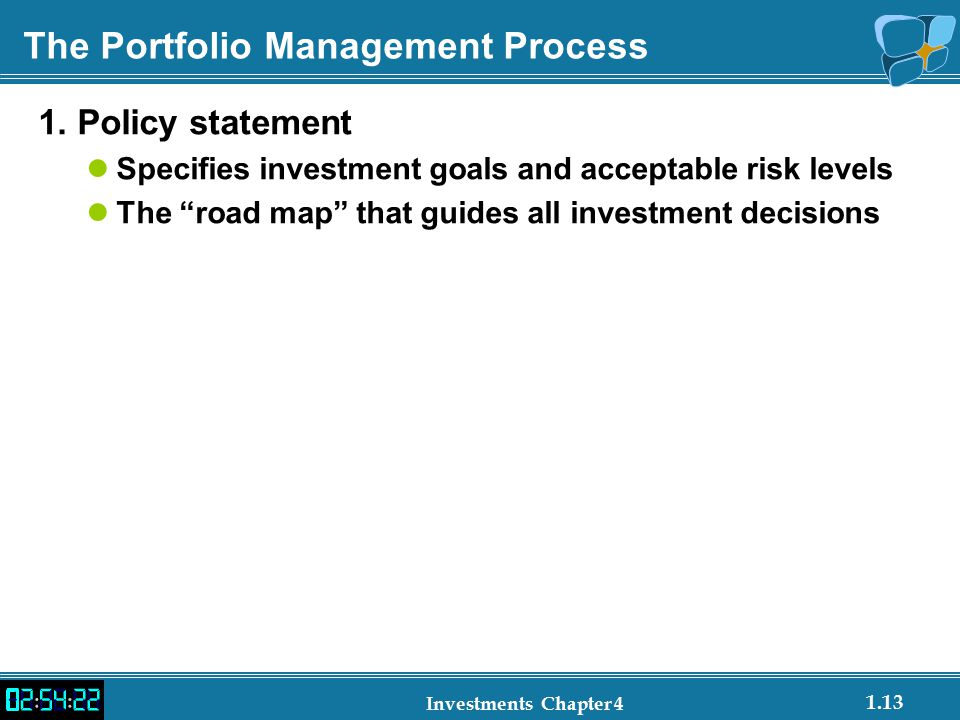 Investment Policy Statements And Asset Allocation Issues  Ppt