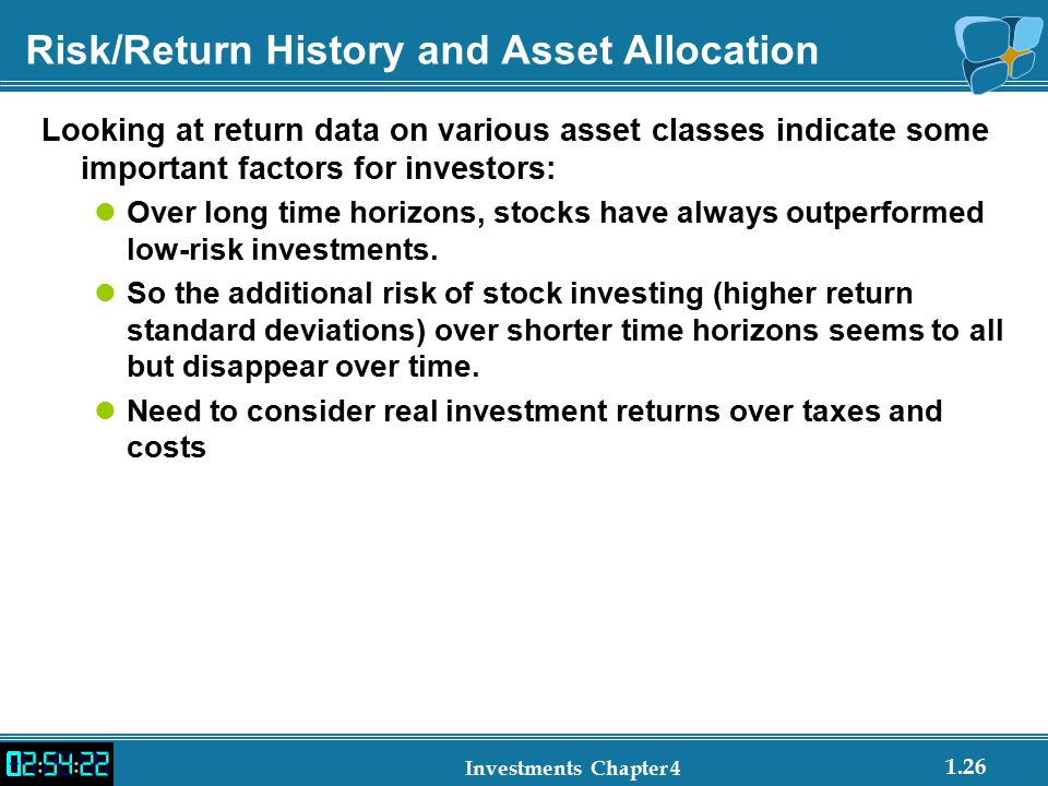 Risk/Return History and Asset Allocation