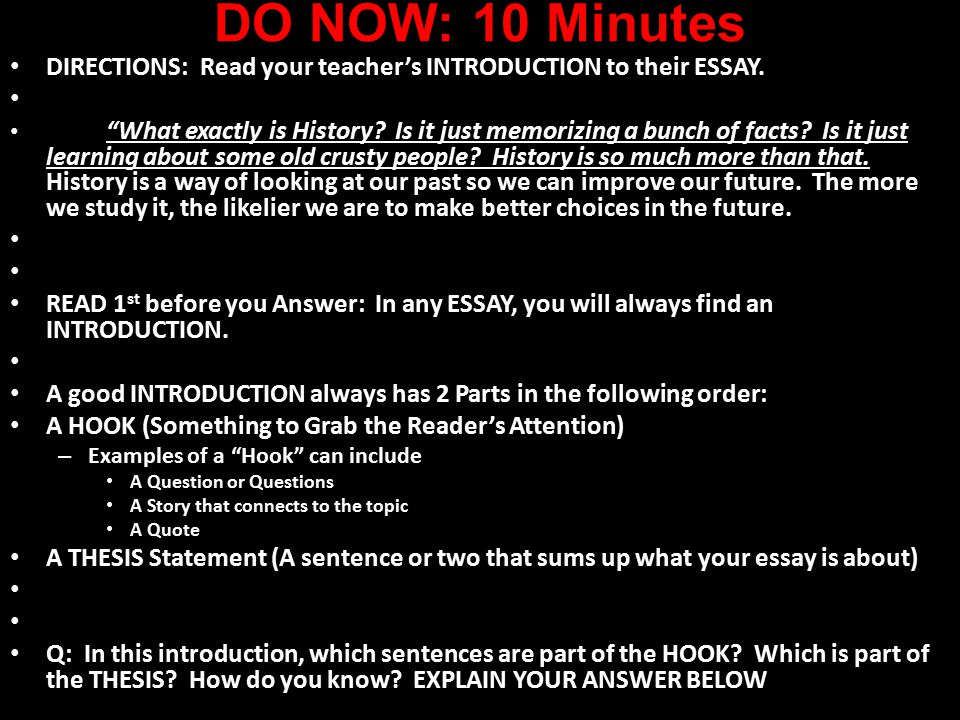 directional essay Steps to writing the process essay 1 determine what kind of process essay is to be written  in an english composition course, a student may most likely be assigned to write a directional process essay, where they provide steps to achieve a particular result this could.