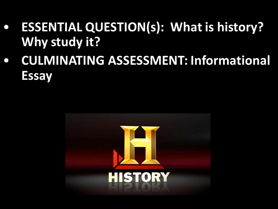 advantages of studying history