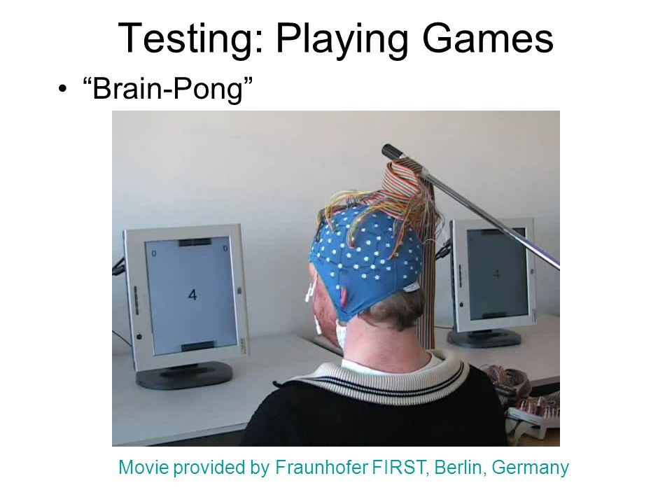 Testing: Playing Games