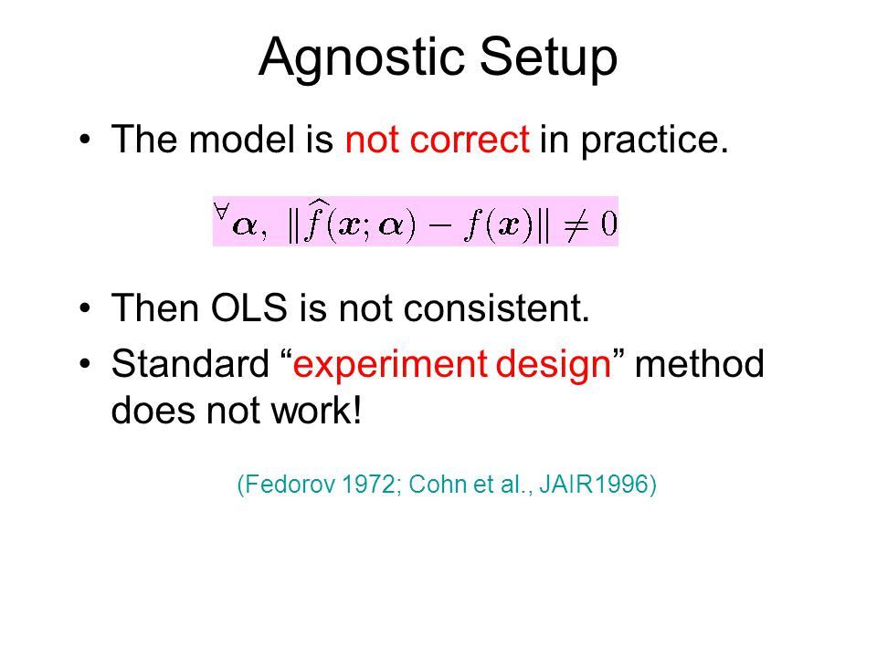 (Fedorov 1972; Cohn et al., JAIR1996)