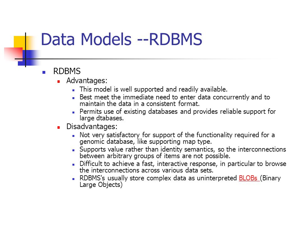 the limitations of rdbms systems Overview rdbms-ordbms-oodbms 2  relational dbms limitations what is an oodbms  oriented systems to a rdbms or.