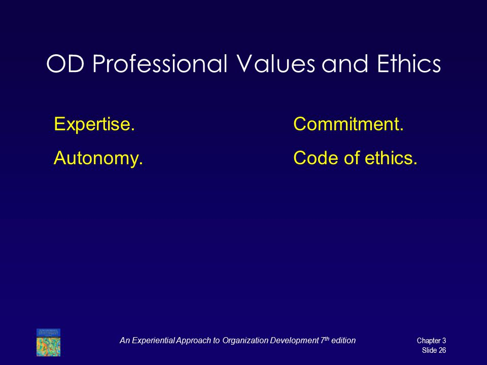 OD Professional Values and Ethics