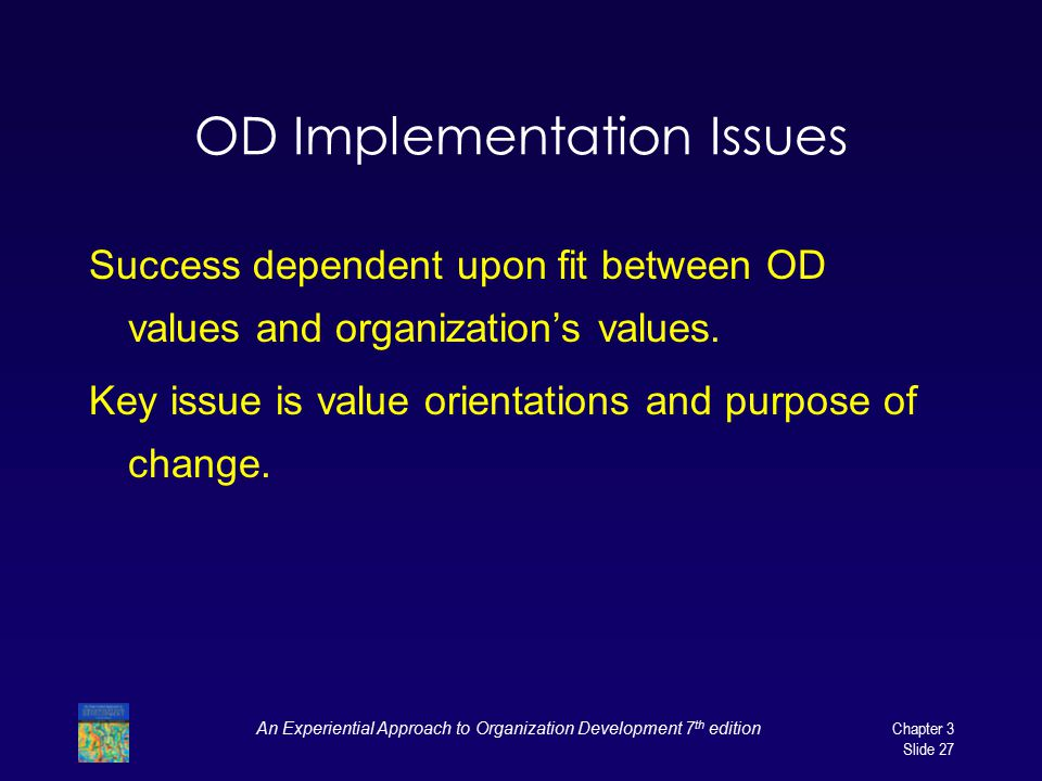OD Implementation Issues