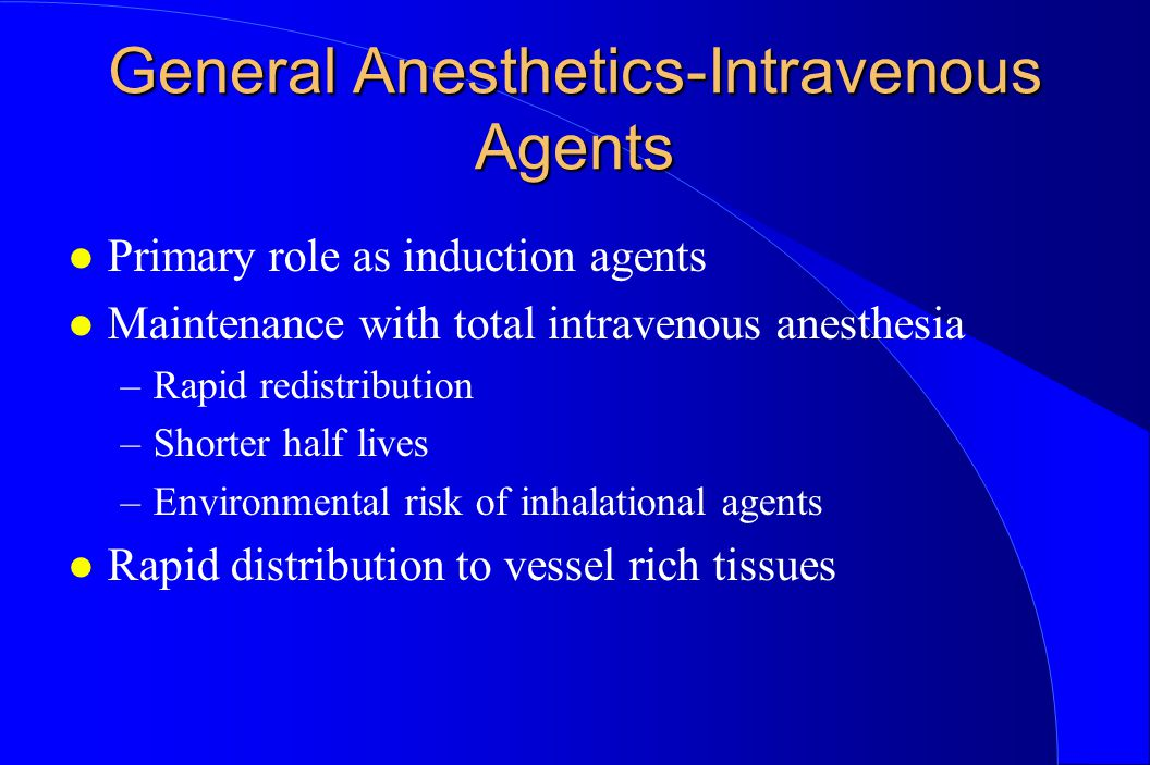 anesthetics history and essay 4 types general anesthesia r
