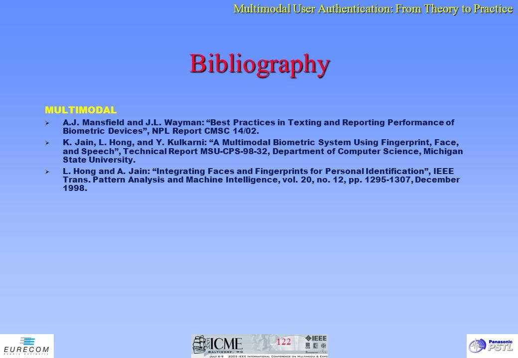 Bibliography MULTIMODAL