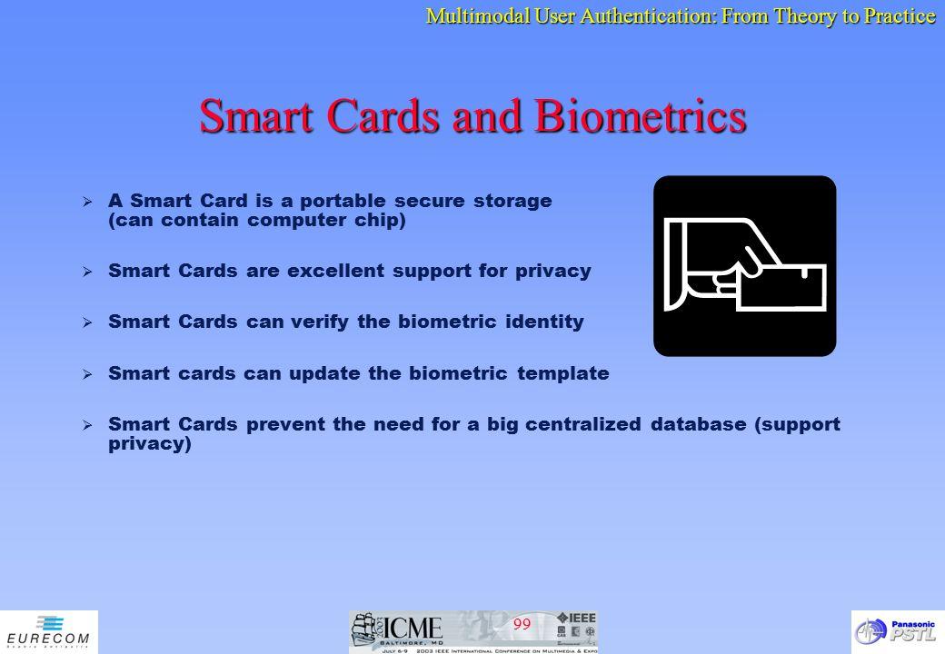 Smart Cards and Biometrics