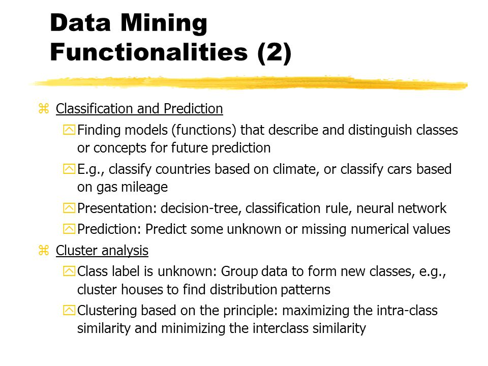 Data mining - SlideShare