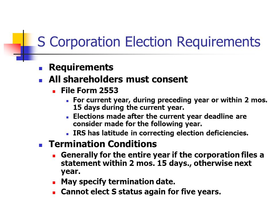 Specific Rules Applicable To Corporations Ppt Video Online Download