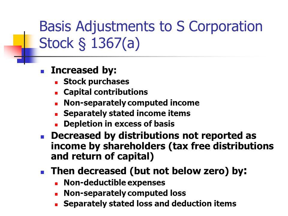 S Corp Basis Worksheet Gadgetsmarket – Shareholder Basis Worksheet