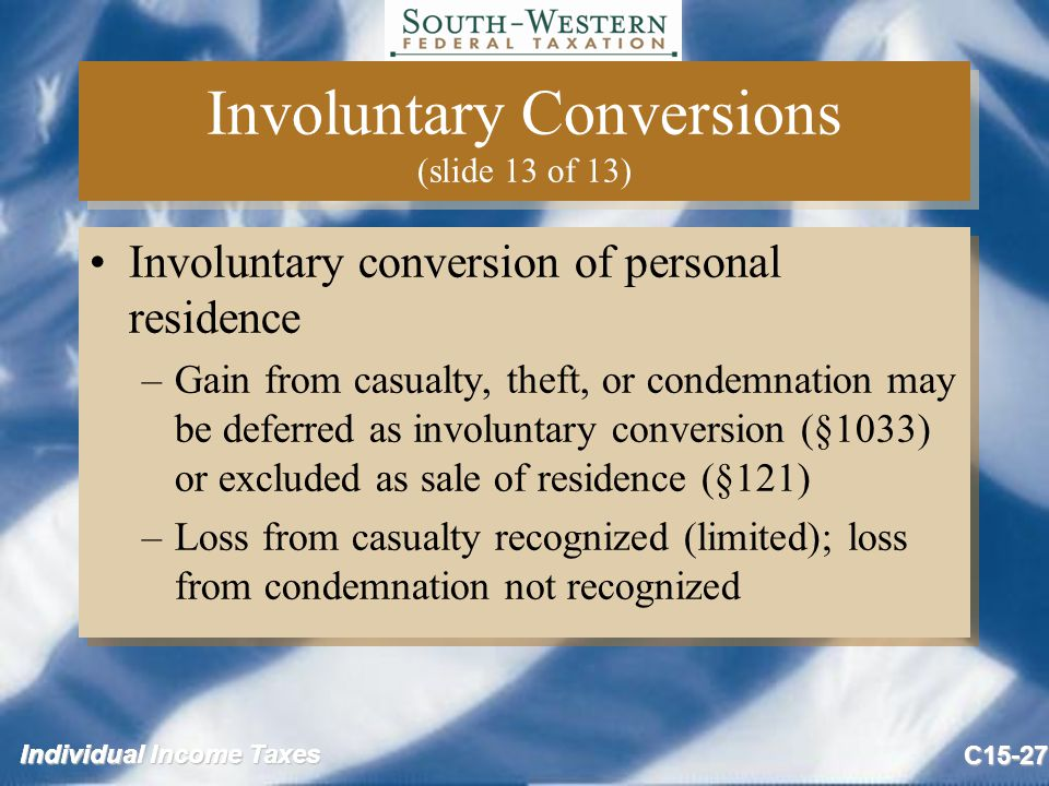 Individual Income Taxes Copyright 169 2009 Cengage Learning