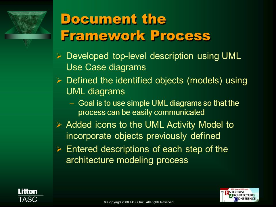 Document the Framework Process